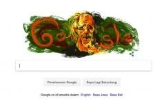 Google Pasang Doodle Maestro Seni Lukis Abstrak Affandi