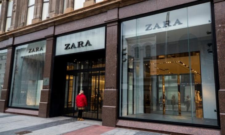 Zara akan menutup sekitar 1,200 gerai dan beralih ke online. (Foto: The Guardian)