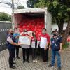 INTI Gandeng Pemuda Pancasila Salurkan Bantuan ke Warga Terimbas COVID-19