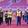 Jelang Piala Menpora, PT Liga Indonesia Baru Tinjau Kesiapan Stadion Manahan