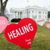 Jill Biden Dekorasi Halaman Gedung Putih Menjadi Banyak Simbol Cinta