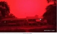 BMKG Ungkap Penyebab Langit Merah di Muaro Jambi