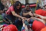 Pelepasan Mantan Gubernur DKI Djarot Saiful Hidayat Di Balai Kota Jakarta