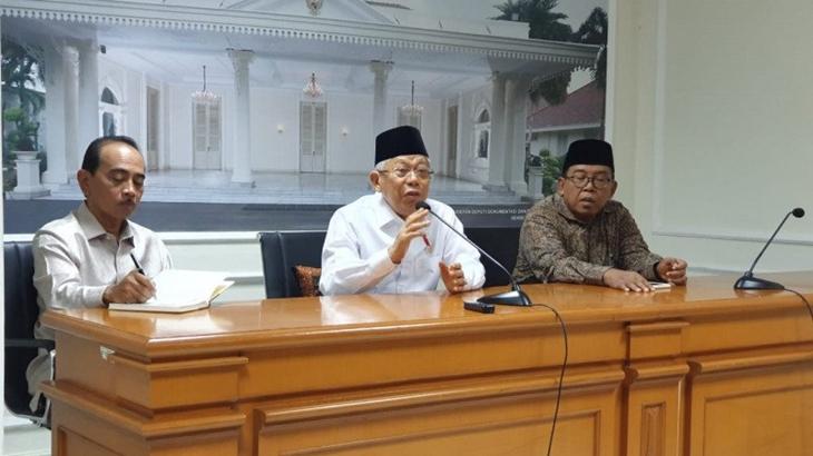 Wapres KH Ma'ruf Amin minta masyarakat hindari narasi-narasi provokatif