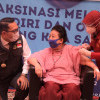 231 Ulama dan Tokoh Jabar Terima Vaksin COVID-19 di Gedung Pakuan
