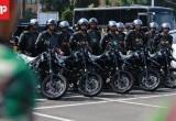 Patroli Gabungan TNI dan Polri Pasca Bentrok Angkot