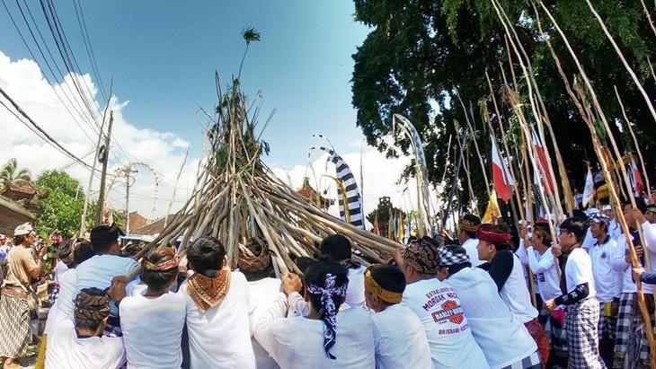Mekotek, Tradisi Tolak Bala Masyarakat Mengwi Bali