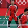 Tumbangkan Ganda Tuan Rumah, Ahsan/Hendra Melaju ke Semifinal Olimpiade Tokyo
