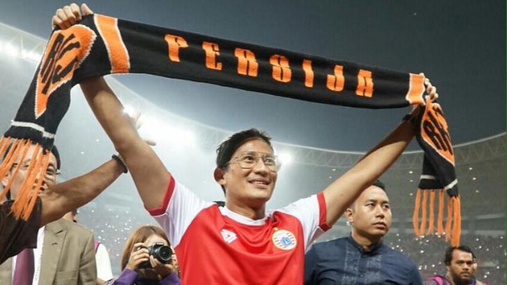 Sandiaga Minta HIPMI Jaya Bantu Pembangunan Stadion Persija