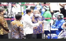 Vaksinasi COVID-19 Untuk Wartawan di GBK Berjalan Lancar dan Tertib