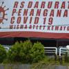 Jumlah Pasien Corona di RS Darurat Wisma Atlet Merosot 327 Orang