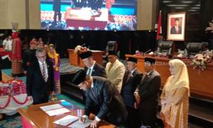 DPRD DKI Setujui Pembahasan 26 Raperda di Tahun 2020