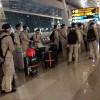 Polisi Selidiki Foto Viral Gerombolan Diduga Tentara Tiongkok di Bandara Soetta