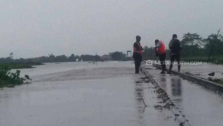Banjir Ganggu Perjalanan Kereta Api Lintas Utara