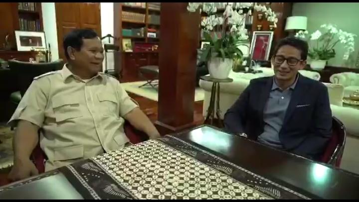 Pengamat: Prabowo-Sandi  'Gak Pede' Gugat ke MK