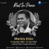 Kenapa Markis Kido Tak Dimakamkan di TMP Kalibata?