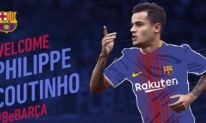 Jadi Pemain Termahal ke-2 di Dunia, Coutinho Resmi ke Barcelona