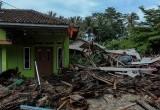 Kerusakan Pemukiman Pasca Tsunami Selat Sunda Di Sepanjang Pesisir Pantai Tanjung Lesung Hingga Sumur