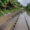 Sempat Terhambat karena Banjir, Jalur KA Argopuro-Banyuwangi Kota Kembali Normal