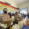 Polisi Bongkar Pabrik dan Peredaran Ganja Sintetis Yang Libatkan Anak Muda