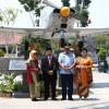 Resmikan Monumen Pesawat AS-202 Bravo LM-2017  Panglima TNI: Saya Terbang Pertama dengan Pesawat Ini