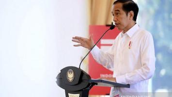Di KLB Gerindra, Jokowi Bicara Soal Pertumbuhan Ekonomi di Tengah Pandemi