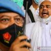 Brimob Jaga Ketat Sidang Perdana Praperadilan Rizieq di PN Jaksel
