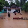 Banjir Bandang Hanyutkan 29 Rumah di Bolaang Mangondow