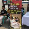 Tiba di Jakarta, Pemudik Jalani Tes Swab di Polsek Gambir