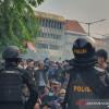 Ribuan Brimob Nusantara Bersiaga Antisipasi Kericuhan saat Demo UU Ciptaker di Jakarta