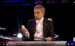 Aksi Kocak Mr Bean di Opening Ceremony Of London 2012 Olympic Games
