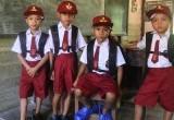 Tas Jokowi Sampai ke Tangan Anak-anak Bengkayang