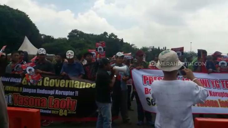 Koalisi Mahasiswa dan Pemuda Minta Jokowi Copot Menteri Yasonna