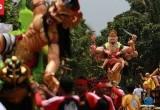 Kemeriahan Pawai Ogoh-ogoh di Banten