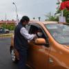 Ribuan Warga Cirebon Divaksin Secara Drive Thru