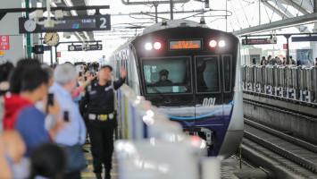 MRT Tetap Beroperasi di Hari Lebaran, Penumpang Dibatasi
