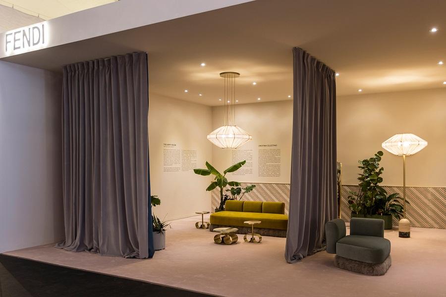 Desain Interior Ruang Ganti Glamour Rancangan Cristina Celestino