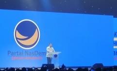 Pidato di Kongres Nasdem, Anies Bicara Soal Persatuan dan Jakarta Sebagai Simpulnya