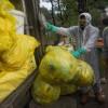 Dinas LH DKI Kumpulkan 859 Kg Masker Bekas di Tengah Pandemi Corona