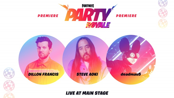 BTS Bakal Hadir di Fornite Party Royale