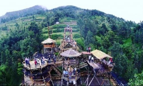 Oemah Bamboo, Cara Baru Mengagumi Gunung Merapi dan Merbabu