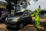 Antisipasi Virus Corona di Satpas SIM Polresta Tangerang