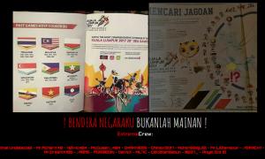 Diretas Hacker, Lagu Indonesia Pusaka Berkumandang di Laman Malaysia