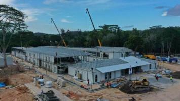 Kebut Pembangunan RS Corona Pula Galang, PUPR Kerahkan 1.600 Pekerja