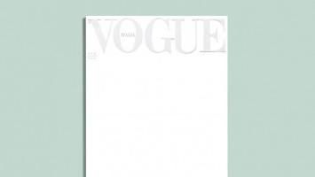 Pertama dalam Sejarah, Vogue Italia Edisi April 2020 Hanya Diisi dengan Cover Putih
