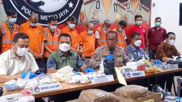 Polda Metro Jaya Bongkar Penyelundupan Narkoba Melalui Speaker dan Makanan Binatang
