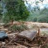 Kerugian Banjir Bandang di Kawasan Wisata Landak River Capai Ratusan Juta