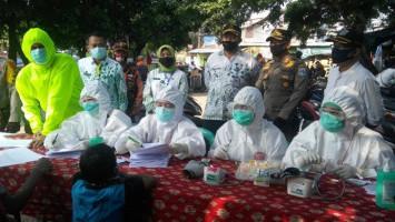 Sejumlah Pedagang Pasar di Jakarta Reaktif COVID-19, Polisi Lakukan Pendataan