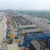 Jasa Marga Kawal Uji Coba Pengangkutan Rel Kereta Cepat di Jalan Tol