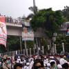 Massa Aksi 212 di Depan Gedung DPR Tak Indahkan Protokol Kesehatan COVID-19
